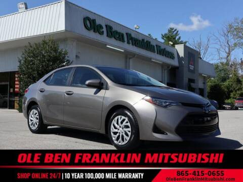 2018 Toyota Corolla for sale at Ole Ben Franklin Mitsbishi in Oak Ridge TN