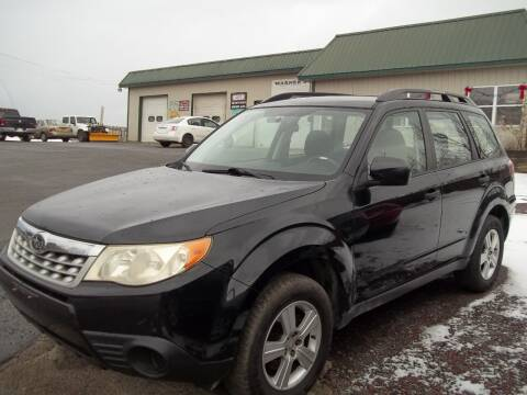 2011 Subaru Forester for sale at Warner's Auto Body of Granville Inc in Granville NY