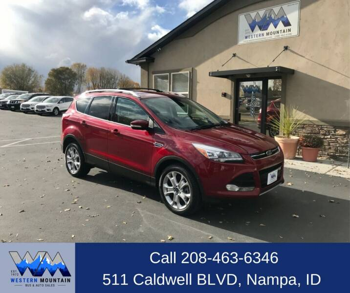 2014 Ford Escape for sale at Western Mountain Bus & Auto Sales in Nampa ID