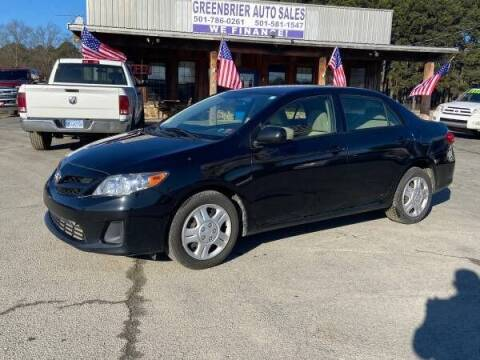 2012 Toyota Corolla for sale at Greenbrier Auto Sales in Greenbrier AR