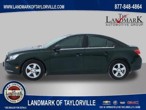 2014 Chevrolet Cruze for sale at LANDMARK OF TAYLORVILLE in Taylorville IL