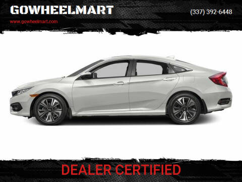 2016 Honda Civic for sale at GOWHEELMART in Leesville LA