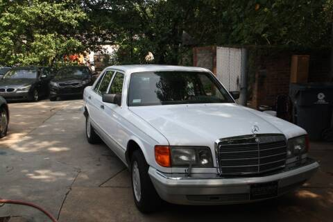 1989 Mercedes-Benz 560-Class for sale at GTI Auto Exchange in Durham NC