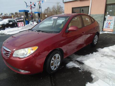 2010 Hyundai Elantra for sale at Broadway Auto Services in New Britain CT