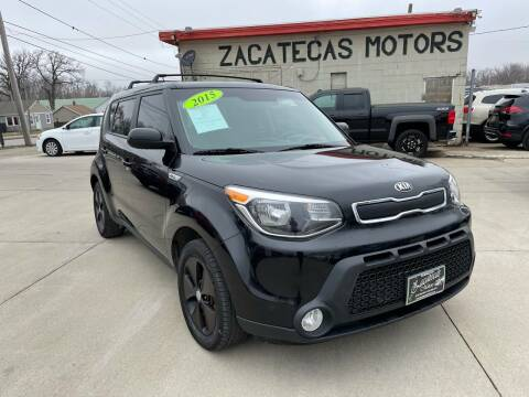 2015 Kia Soul for sale at Zacatecas Motors Corp in Des Moines IA