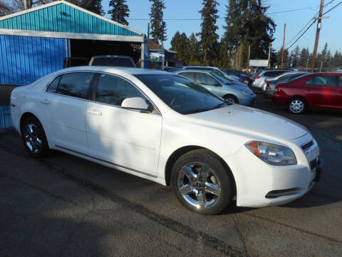 2010 Chevrolet Malibu for sale at Lino's Autos Inc in Vancouver WA