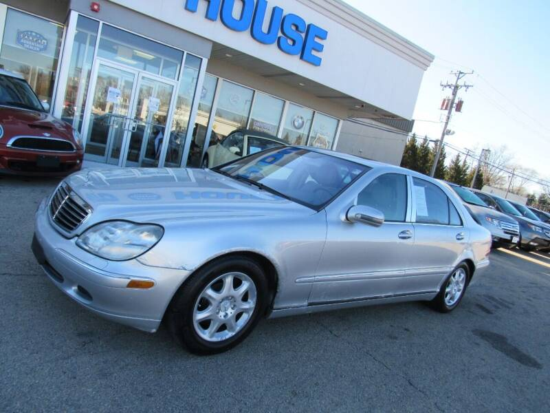 2002 Mercedes-Benz S-Class for sale at Auto House Motors in Downers Grove IL