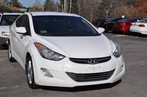 2013 Hyundai Elantra for sale at Amati Auto Group in Hooksett NH