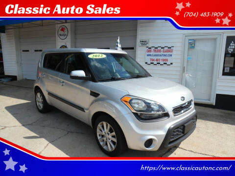 2012 Kia Soul for sale at Classic Auto Sales in Maiden NC