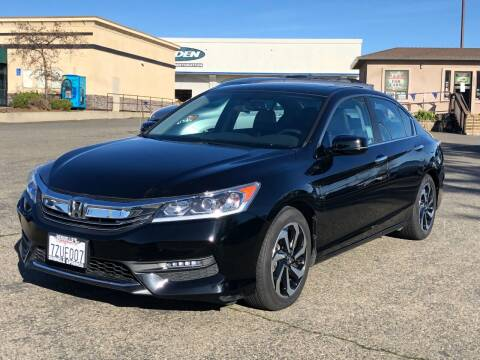 2016 Honda Accord for sale at Deruelle's Auto Sales in Shingle Springs CA