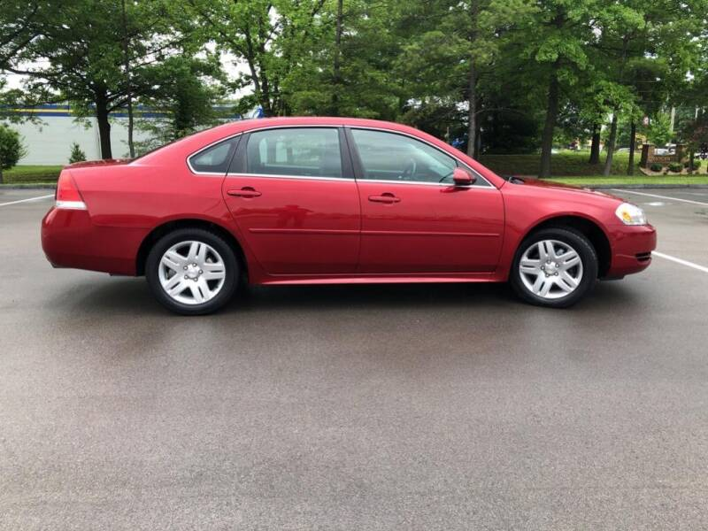 2014 Chevrolet Impala Limited for sale at St. Louis Used Cars in Ellisville MO