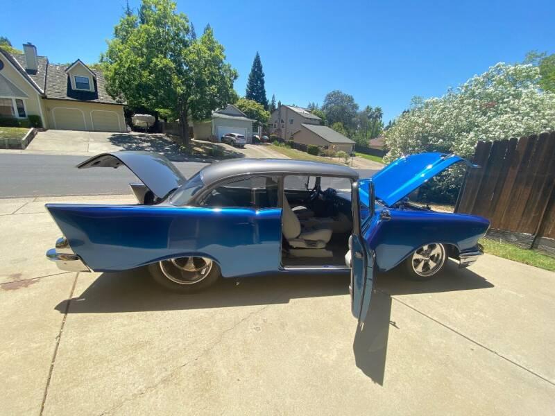 1957 Chevrolet 210 for sale at Steven Pope in Auburn CA
