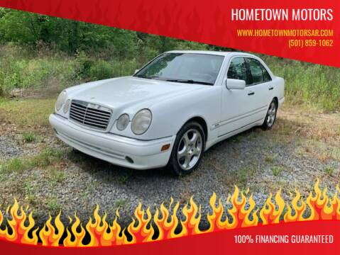 1999 Mercedes-Benz E-Class for sale at Hometown Motors in Maumelle AR
