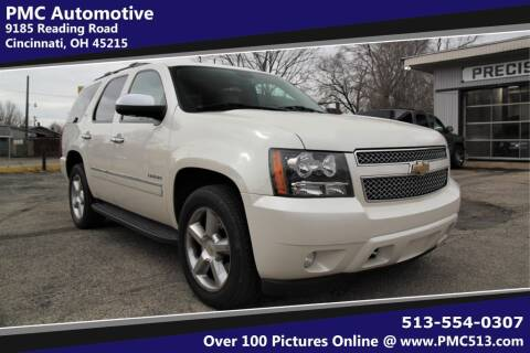 2011 Chevrolet Tahoe for sale at PMC Automotive in Cincinnati OH