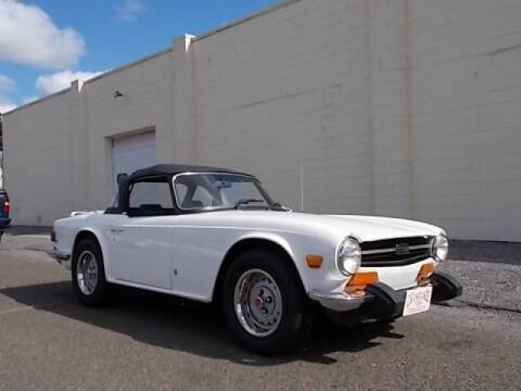 1974 Triumph TR6 for sale at C & C AUTO SALES in Riverside NJ