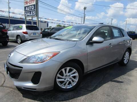 2012 Mazda MAZDA3 for sale at TRI CITY AUTO SALES LLC in Menasha WI