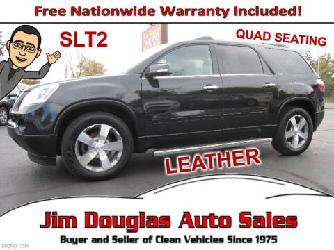 2011 GMC Acadia for sale at Jim Douglas Auto Sales in Pontiac MI