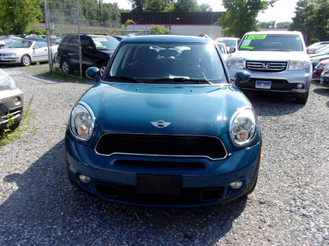 2012 MINI Cooper Countryman for sale at Balic Autos Inc in Lanham MD