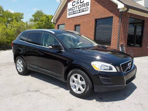 2012 Volvo XC60 for sale at C & C MOTORS in Chattanooga TN
