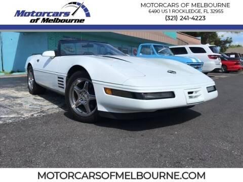 1994 Chevrolet Corvette for sale at Motorcars of Melbourne in Rockledge FL