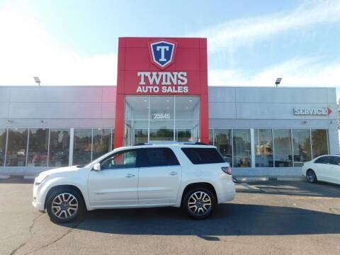 2014 GMC Acadia for sale at Twins Auto Sales Inc Redford 1 in Redford MI