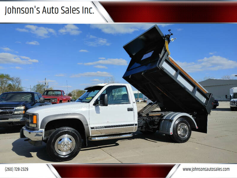 1998 Chevrolet C/K 3500 Series for sale at Johnson's Auto Sales Inc. in Decatur IN
