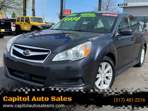 2010 Subaru Legacy for sale at Capitol Auto Sales in Lansing MI