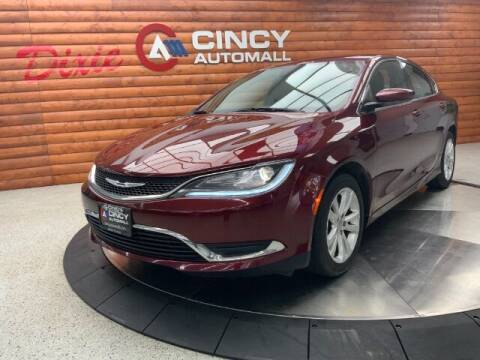 2015 Chrysler 200 for sale at Dixie Motors in Fairfield OH