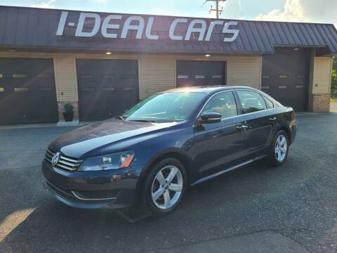 2013 Volkswagen Passat for sale at I-Deal Cars in Harrisburg PA