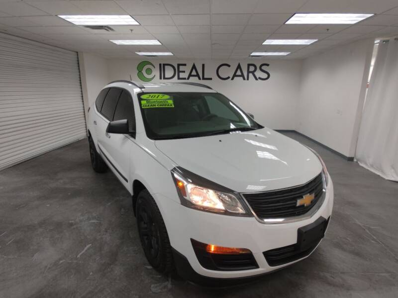 2017 Chevrolet Traverse for sale at Ideal Cars Broadway in Mesa AZ
