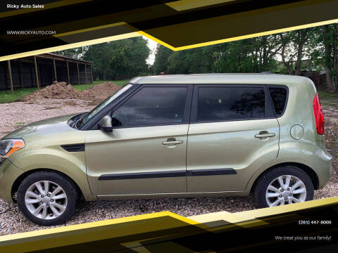 2012 Kia Soul for sale at Ricky Auto Sales in Houston TX