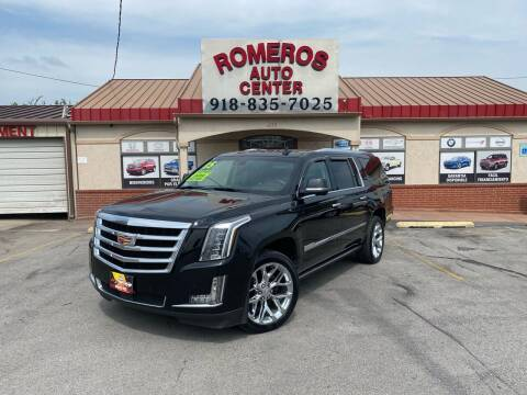 2015 Cadillac Escalade ESV for sale at Romeros Auto Center in Tulsa OK