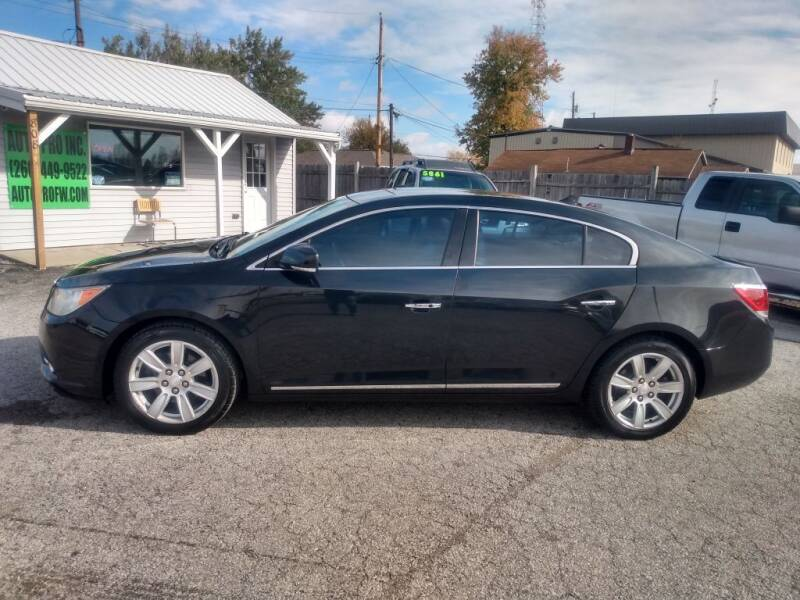 2010 Buick LaCrosse for sale at Auto Pro Inc in Fort Wayne IN