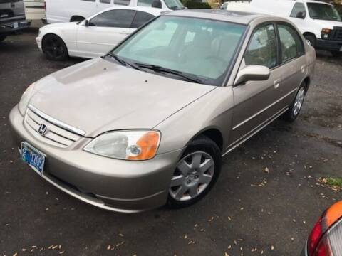 2001 Honda Civic for sale at Chuck Wise Motors in Portland OR