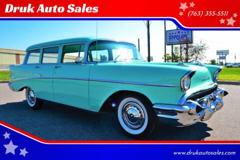 1957 Chevrolet 210 for sale at Druk Auto Sales in Ramsey MN