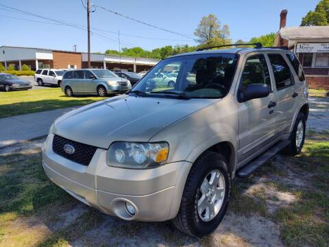 2007 Ford Escape for sale at Ray Moore Auto Sales in Graham NC
