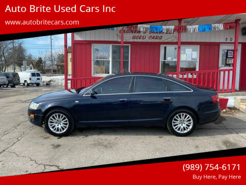 2006 Audi A6 for sale at Auto Brite Used Cars Inc in Saginaw MI