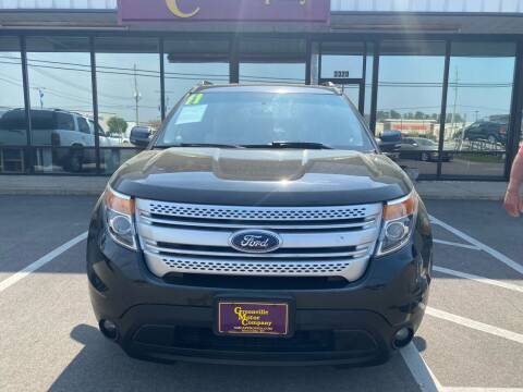 2011 Ford Explorer for sale at Greenville Motor Company in Greenville NC