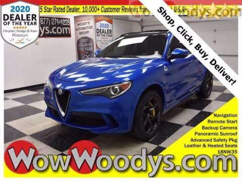 2018 Alfa Romeo Stelvio Quadrifoglio for sale at WOODY'S AUTOMOTIVE GROUP in Chillicothe MO
