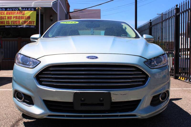 2013 Ford Fusion Hybrid for sale at EZ PASS AUTO SALES LLC in Philadelphia PA