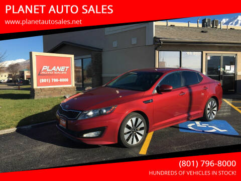 2013 Kia Optima for sale at PLANET AUTO SALES in Lindon UT