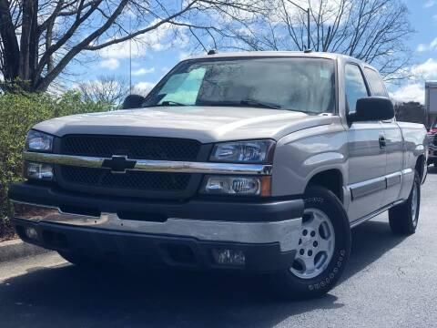 2004 Chevrolet Silverado 1500 for sale at William D Auto Sales in Norcross GA
