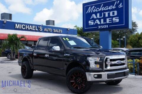 2015 Ford F-150 for sale at Michael's Auto Sales Corp in Hollywood FL