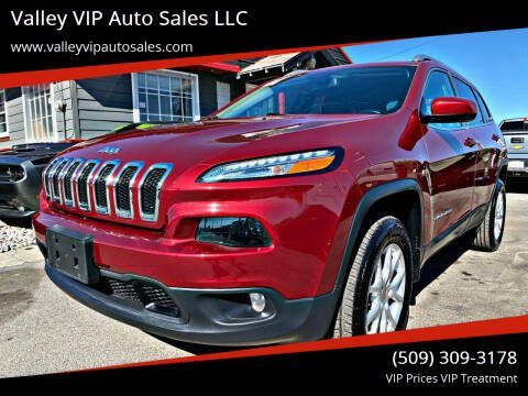 2017 Jeep Cherokee for sale at Valley VIP Auto Sales LLC in Spokane Valley WA