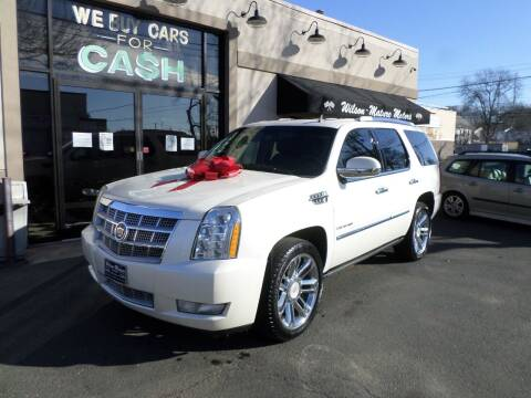 2013 Cadillac Escalade for sale at Wilson-Maturo Motors in New Haven Ct CT
