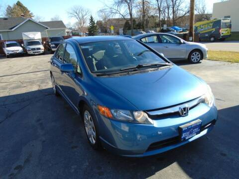 2008 Honda Civic for sale at DISCOVER AUTO SALES in Racine WI