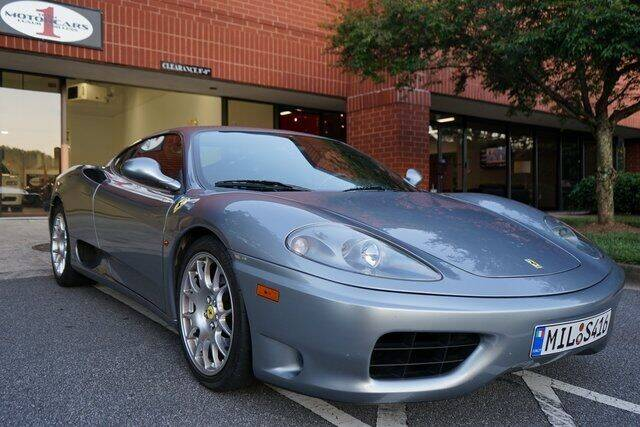 2000 Ferrari 360 Modena for sale at Team One Motorcars, LLC in Marietta GA