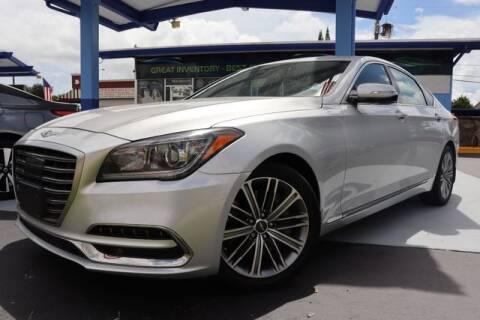 2018 Genesis G80 for sale at OCEAN AUTO SALES in Miami FL