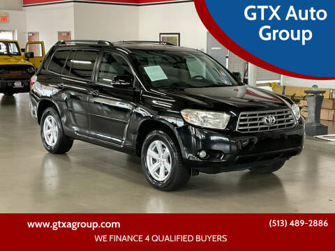 2010 Toyota Highlander for sale at GTX Auto Group in West Chester OH