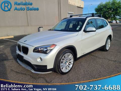 2015 BMW X1 for sale at Reliable Auto Sales in Las Vegas NV